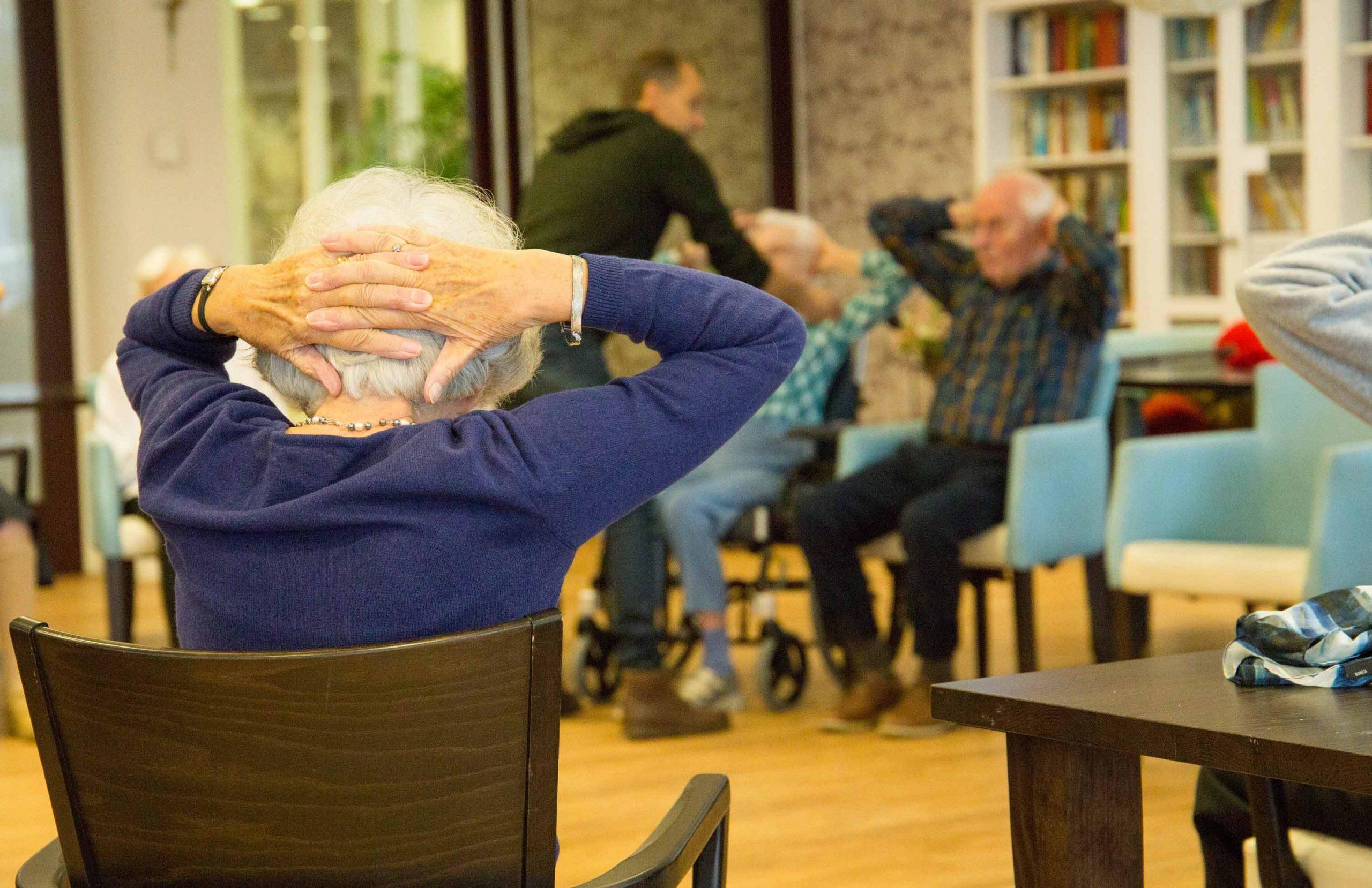 Ouderengymnastiek Leiden Roomburgh