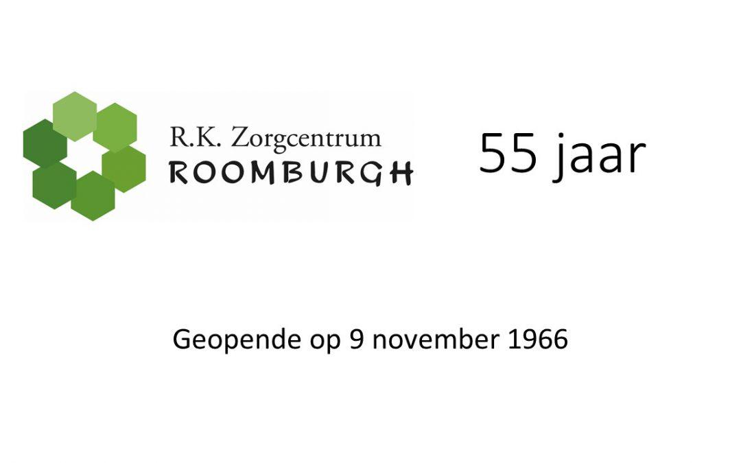 Roomburgh viert dit jaar haar 55 jaar bestaan
